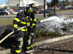 Walgreen's Mulch Fire
