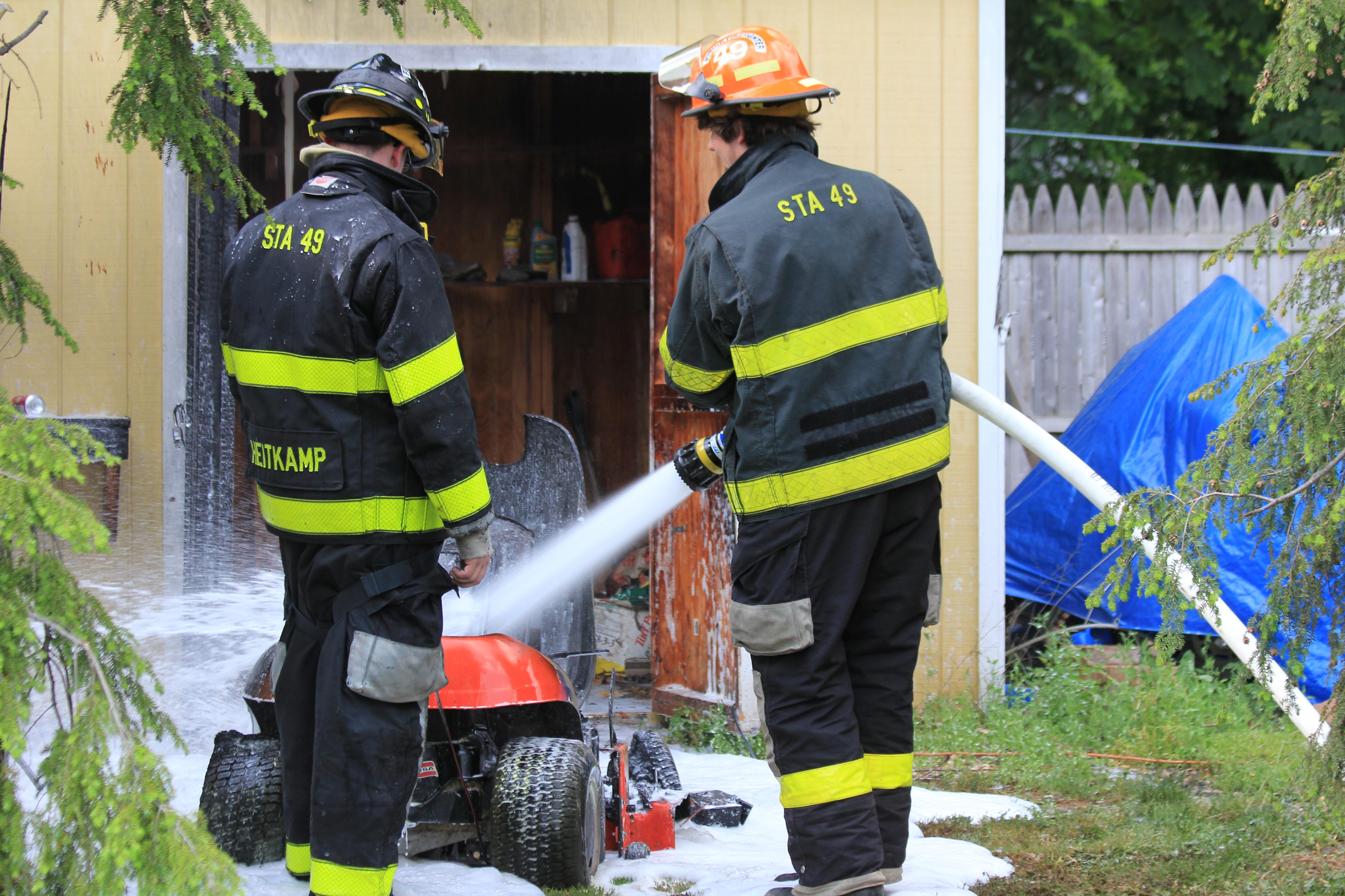 2016 Mower Fire