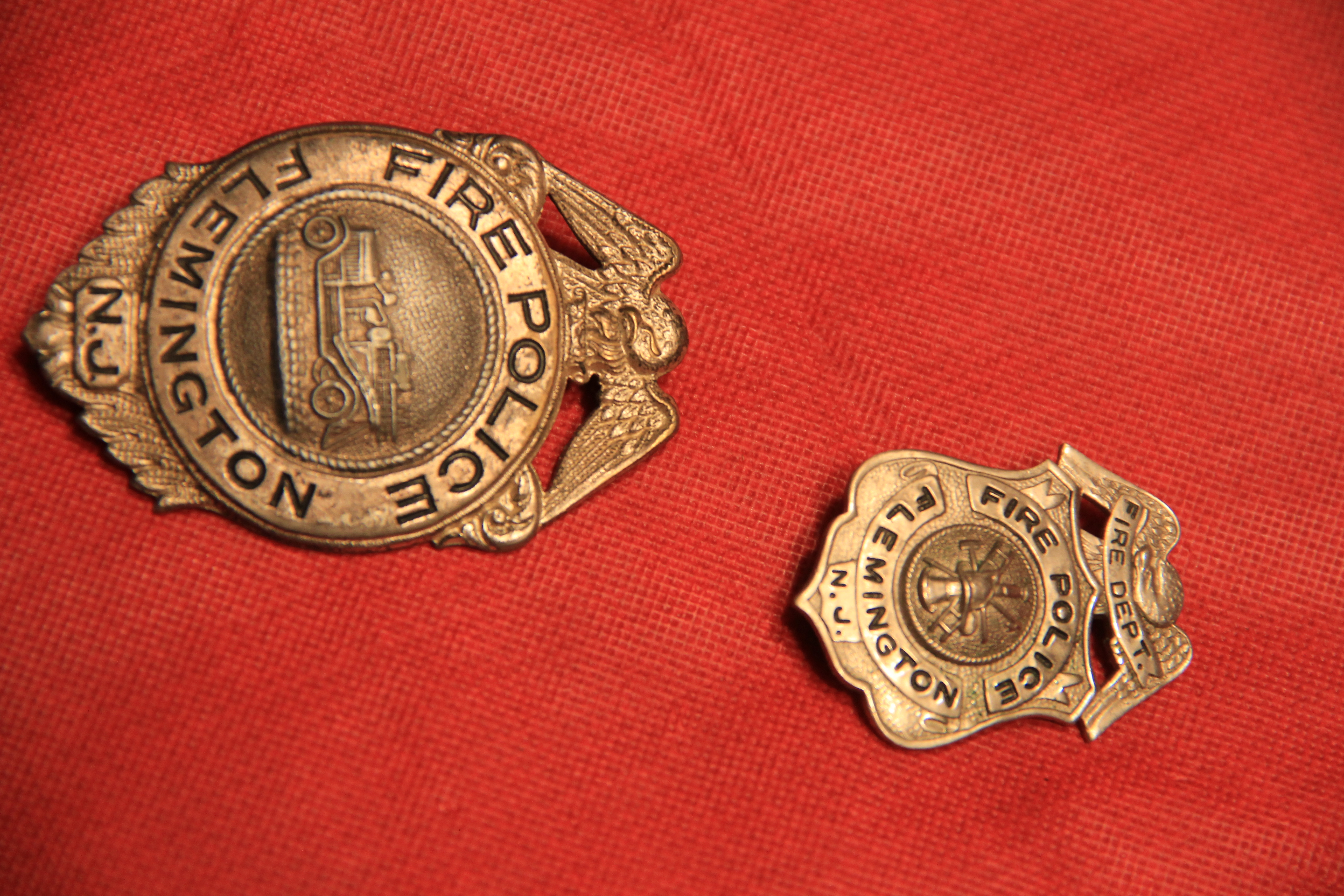 Fire police badges