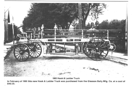 1900 Hook & Ladder Truck
