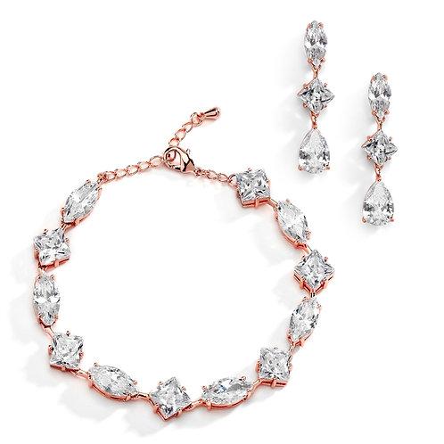Tiffany Bracelet & Earrings Set