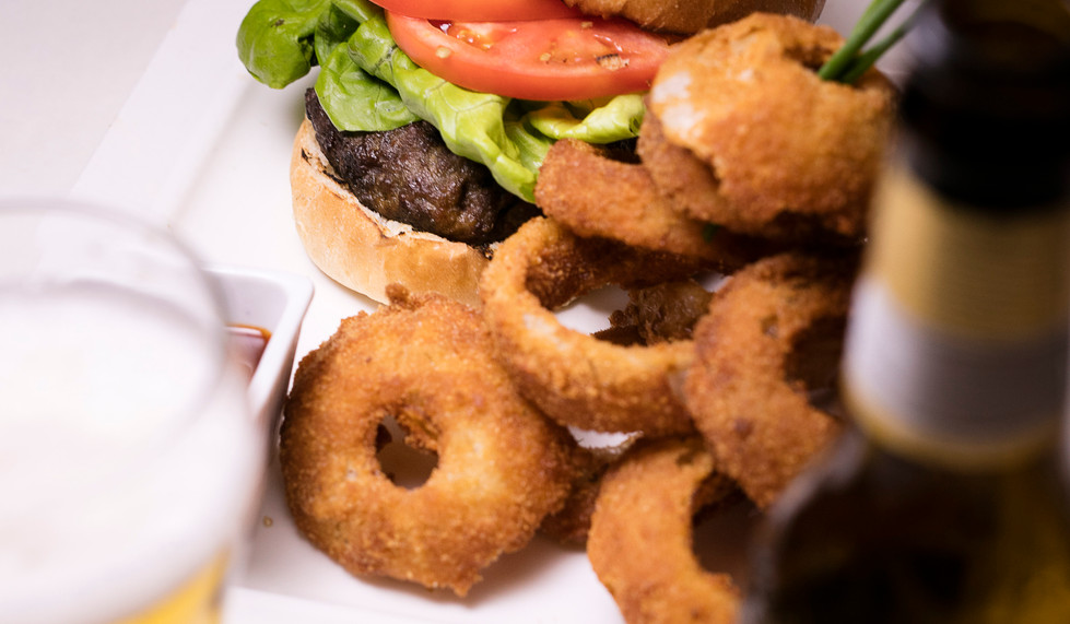 W&L Burger, Beer Battered Onion Rings
