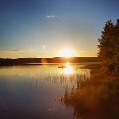 Hiawatha in the night sun 🛶_._._.jpg