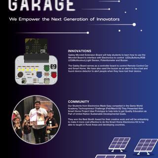 Innovation Garage Promotional Poster