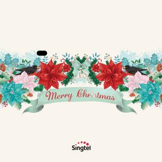 Singtel Christmas E-Greeting Animation