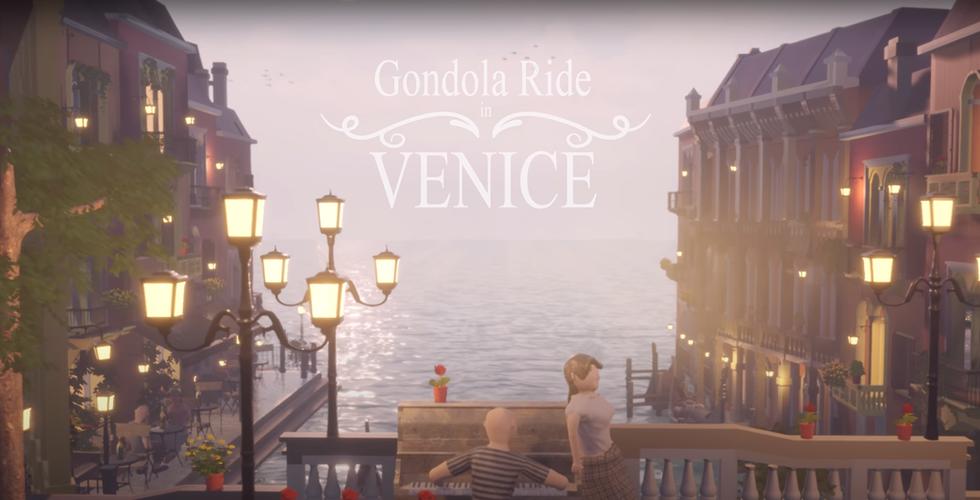 Gondola trip in Venice