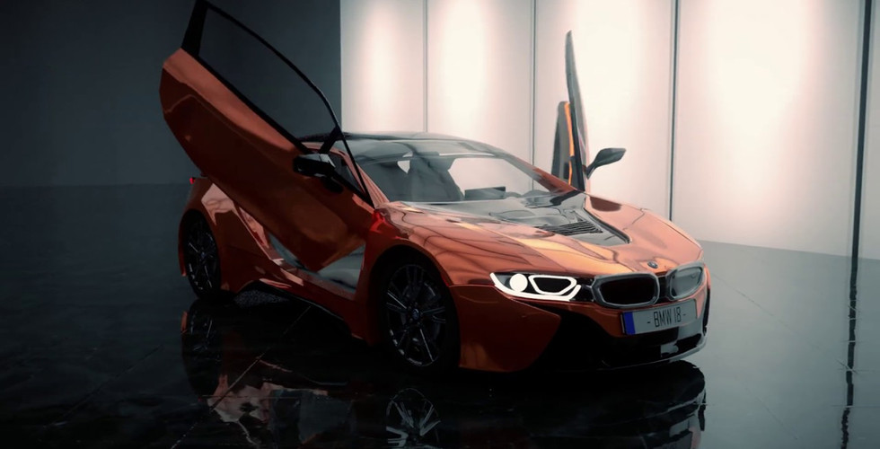 Bmw i8 unofficial trailer