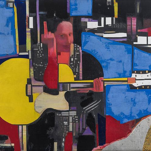 'Nina with Guitar'