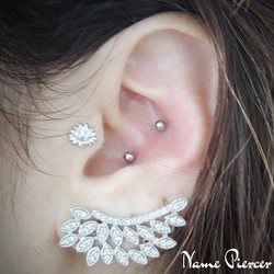 Piercing Conch Double