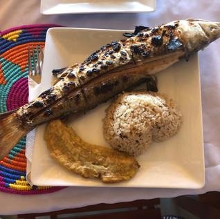 Dinner in La Guajirra Colombia