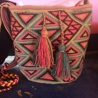 La Guajirra hand made purse