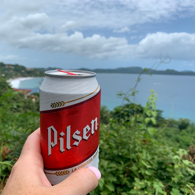 Pilsen Beer in Costa Rica