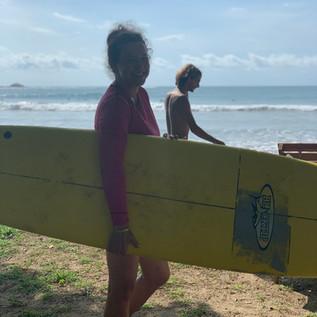 Costa Rica surfer girl