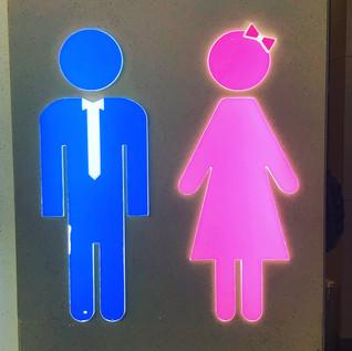 Taiwan bathroom sign, Humm?