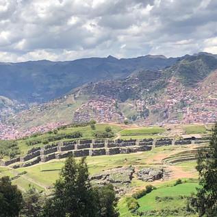 Peru salt mines