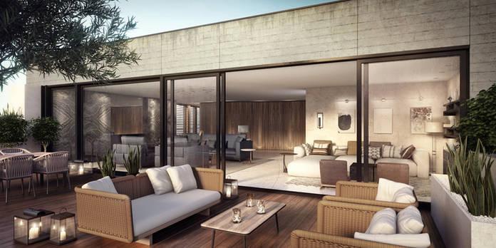 3D Terrace
