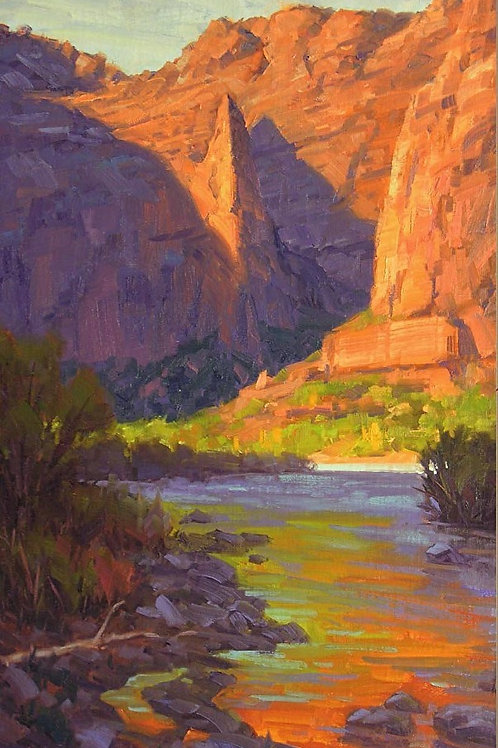 Six Step Thought Process - Plein Air Workshop in Sedona with Cody DeLong - 9/30