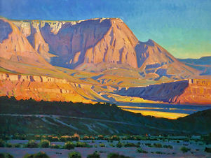 Colorful Dawn - Vermilion Cliffs 30x40 2021.jpeg