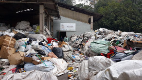 Cooperativa de reciclagem opera em situação precária
