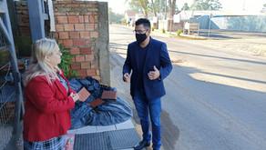 Marco pede melhoria de pavimentação e retirada de lixo na Estrada dos Capistranos
