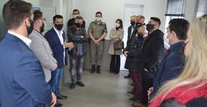 Polícia Civil e Consepro realizam prestação de contas da reforma do plantão da 1ª Delegacia