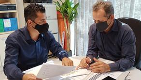 Marco apresenta demandas na Secretaria de Sustentabilidade
