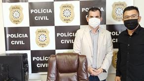 Marco encontra delegado regional para reforçar necessidade de DPPA mais perto de Cachoeirinha