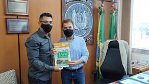 Marco visita deputado estadual Sérgio Turra