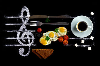 breakfast-concept-as-notes-music-fried-e