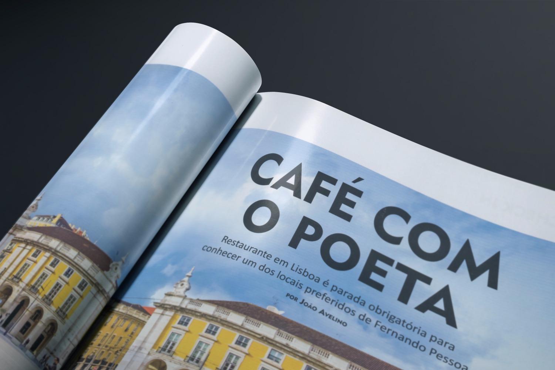 Portugal Cafe Poeta Tecnomuseu