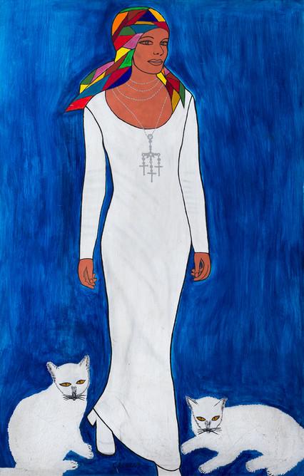 Nair, figura de branco
