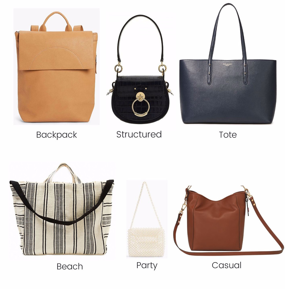 6 essential bags for your capsule wardrobe