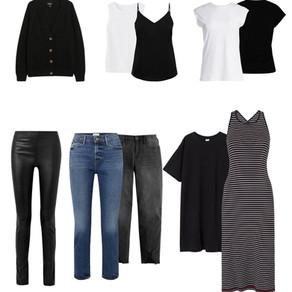 10 Basics that make your wardrobe Work!