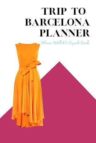 Trip to Barcelona Planner Journal
