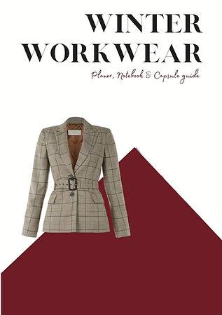 Winter Workwear Capsule Planner