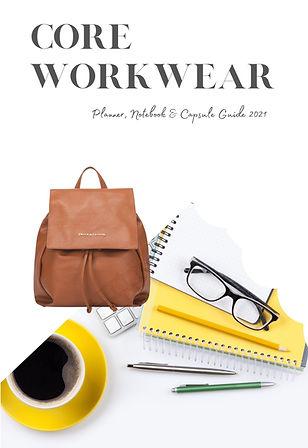 Affordable Workwear Capsule Planner