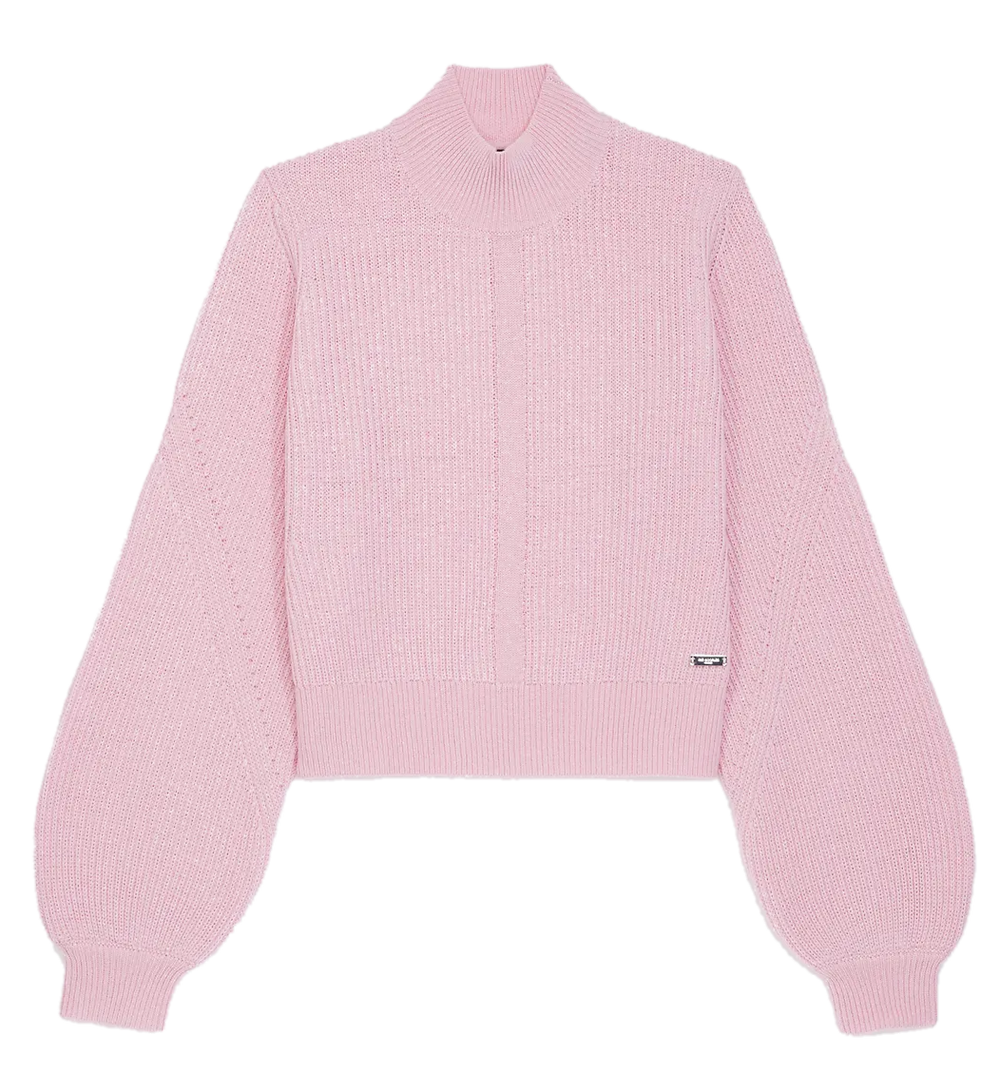 Baby Pink Puff sleeved jumper