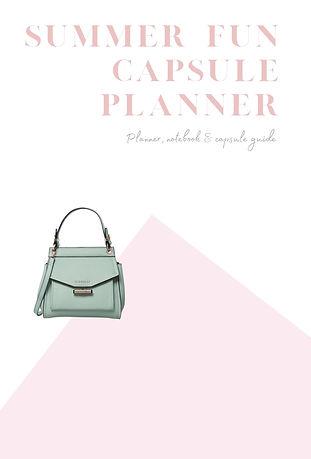 Fun Capsule Wardrobe Planner/Notebook