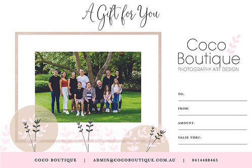 $250 GIFT VOUCHER AND FRAMED PRINT
