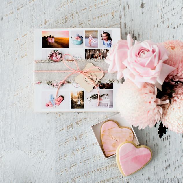 Gift Voucher - Flowers- Biscuits