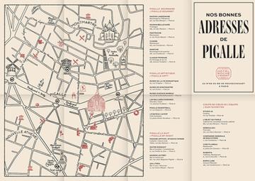 Hôtel Rochechouart area map