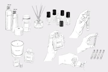 Maison Louis Marie - Packshot illustrations