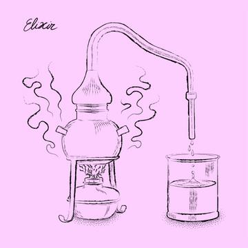 Elixir cocktail