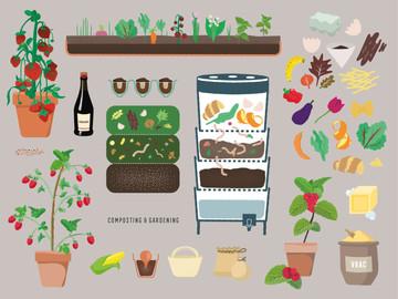 Manuel du Bon Sens Cuisinier : Composting