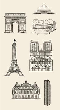 Parisian monuments