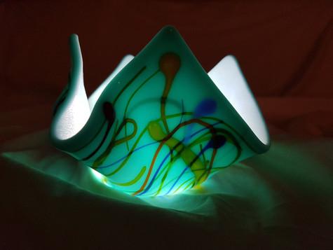 Candle holder #8 Illuminated