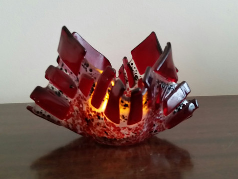 Candle holder #13 Illuminated