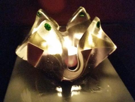 Candle holder #14 Illuminated