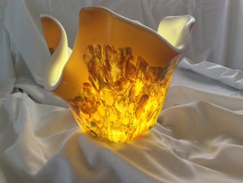 Vase #2 illuminated