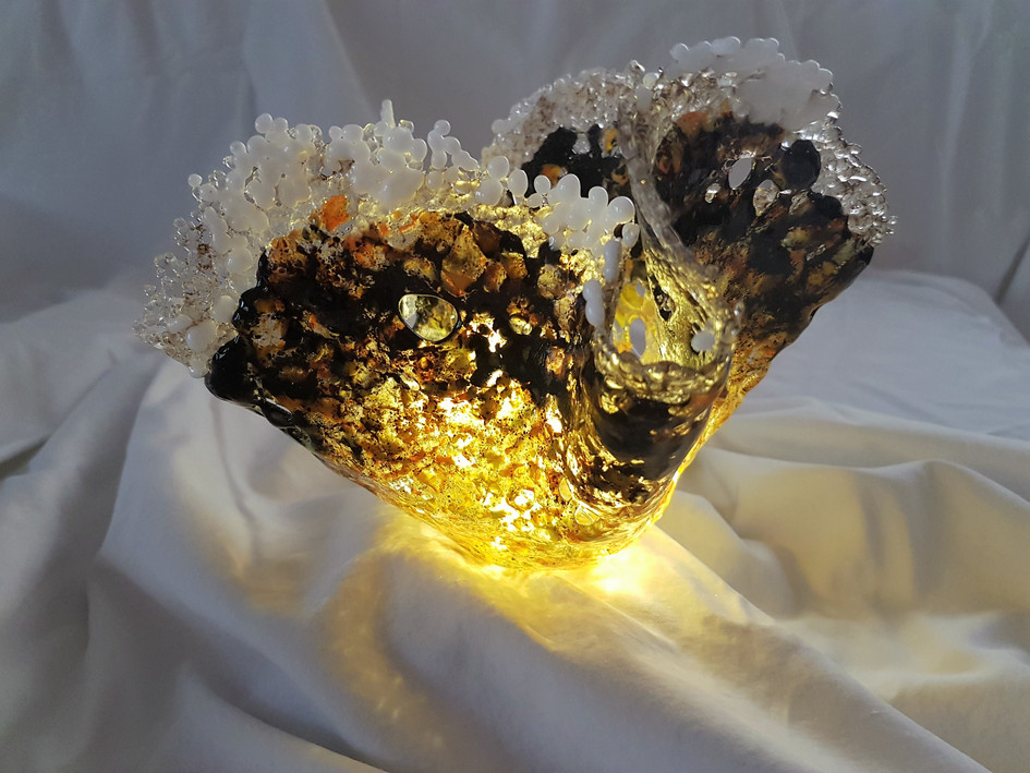 Vase #3 Illuminated